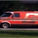 The G-Team van, compete with a gold G, is seen parked on Sunset Street in Springfield, MO
