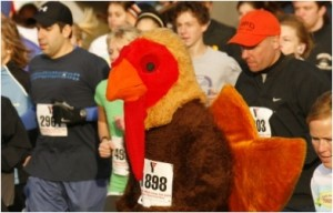 Inconsiderate Turkey Trot participants annoy man