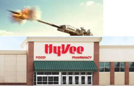 Springfield, MO- With the Hy-Vee grocery store opening across the street, ...