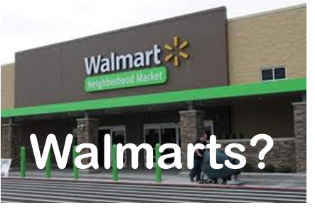 "8261e8fc6ad Walmart Sign Goes Up Without the ""S"" : Fair City News"